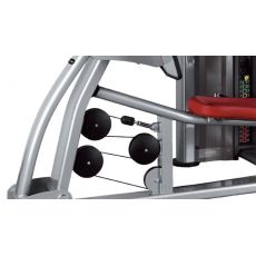 Leg press BH L050, Postes Jambes