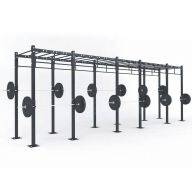 STRUCTURE CROSS TRAINING 690 x 120 x 275 cm, Cross training centrales