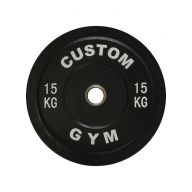 Bumper plate 15 kg CUSTOM GYM, Disques cross training