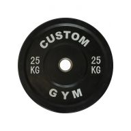 Bumper plate 25 kg CUSTOM GYM, Disques cross training